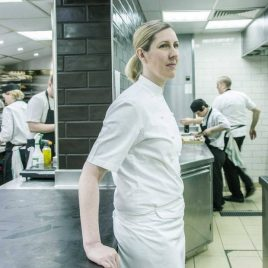 Clare Smyth recipe for dulse nori and sea lettuce