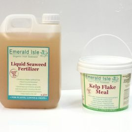 Seaweed garden fertilizer