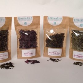 Dulse Powder, Sweet kelp, Kombu, Dulse Flakes, Sea Spaghetti, Bladder wrack Flakes, Kombu Powder