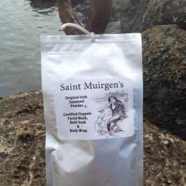 Saint Muirgens seaweed bath, body and facial powder