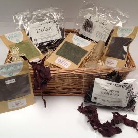 Hamper Of Healthy Dulse Snacks & Sea Herbs