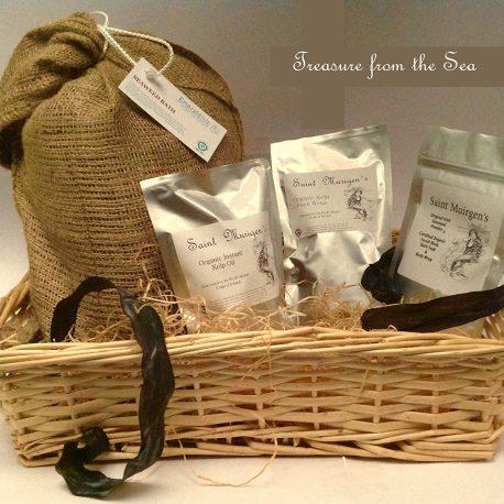St Muirgens Spa gift from Emerald Isle Seaweed
